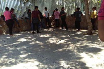 Personal de seguridad del ISSSTE en Tuxtla a paro laboral