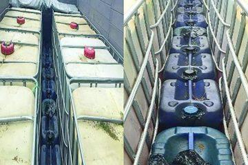 Asegura PGR-Chiapas dos vehículos con más de 9 mil litros de hidrocarburos