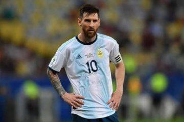 Messi recibe tres meses de suspensión y una multa de 50.000 dólares por sus acusaciones de corrupción hacia la Conmebol