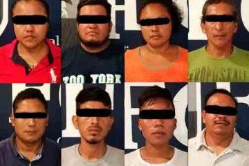 ¡20 detenidos por daños a oficinas en Tapachula!