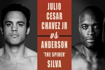 Confirmado: Anderson Silva será rival de Julio César Chávez Jr.