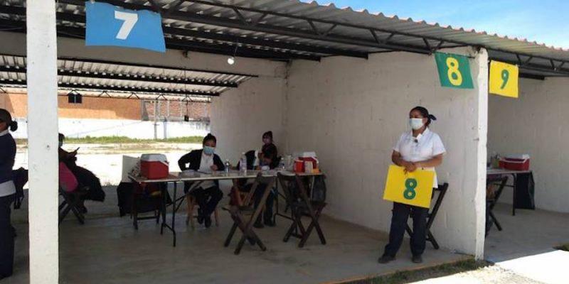 Registran poca afluencia de vacuna Covid-19 en San Cristóbal