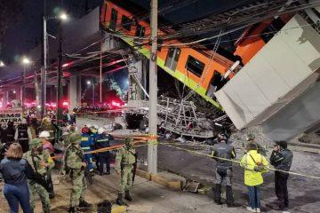 La fiscalía de CDMX denuncia a 10 personas por colapso de la Línea 12 del Metro