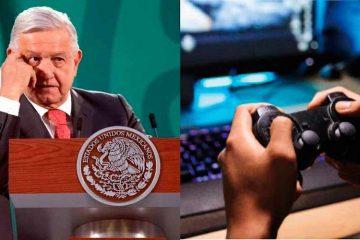 AMLO alerta sobre secuestro a menores a través de videojuegos
