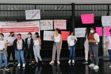 A huelga de hambre aspirantes a Normal de Educadoras