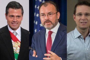 FGR acusará a Peña Nieto, Videgaray y Anaya por delincuencia organizada